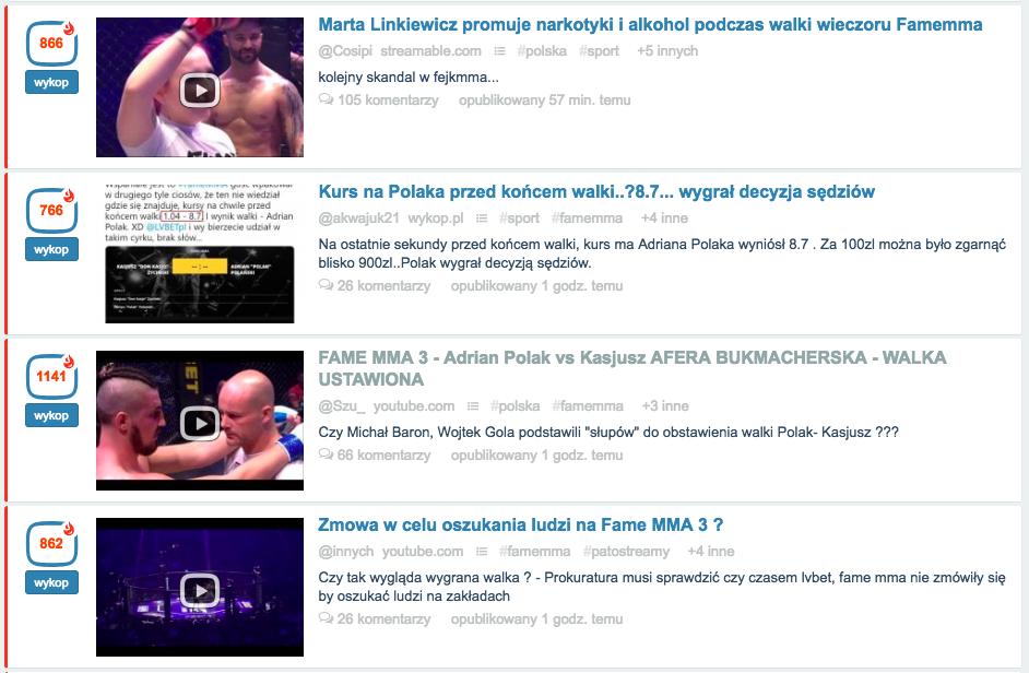 Skandal na gali FAME MMA  Klienci czują się oszukani