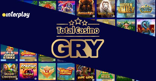 Automaty do gier i inne gry hazardowe w polskim kasynie Total